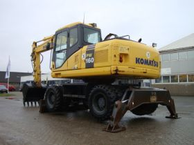 Колесный экскаватор Komatsu PW160-7